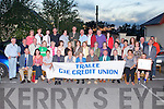 TRALEE CIE CREDIT UNION: Member's of the Tralee CIE credit union at their final meeting at Stokers Lodge restaurant and bar, Tralee on Friday.