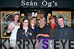 STAFF PARTY: Member's of staff of the Manor West Hotel enjoying a belated Halloween Party at Se?an O?g's bar on Thursday l-r: Geraldine Gallagher, Barbara Bovenizer, Claire O'Grady, Karen Walsh, Pauline Hegarty and Ger Ahern..   Copyright Kerry's Eye 2008