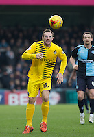 Liam Lawrence of Bristol Rovers in action during the Sky Bet League 2 match between Wycombe Wanderers and Bristol Rovers at Adams Park, High Wycombe, England on 27 February 2016. Photo by Andrew Rowland.