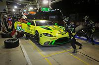 #97 ASTON MARTIN RACING (GBR) ASTON MARTIN VANTAGE AMR LM GTE PRO MAXIME MARTIN (BEL) ALEXANDER  LYNN (GBR) JONATHAN ADAM (GBR)