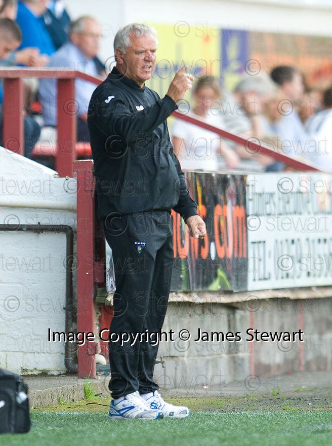 Dunfermline's manager Jim Jeffries.