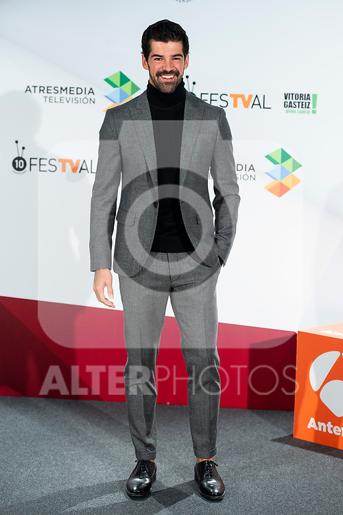 Actor Miguel Angel Munoz attends presentation of 'Presunto Culpable' during FestVal in Vitoria, Spain. September 05, 2018. (ALTERPHOTOS/Borja B.Hojas)