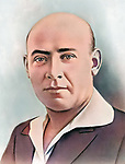 Ernst Thalmann (1886-1944), leader of the Communist Party of Germany KPD.