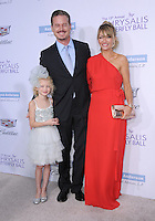 11 June 2016 - Los Angeles. Eric Dane, Rebecca Gayheart-Dane, Billie Beatrice Dane. Arrivals for the 15th Annual Chrysalis Butterfly Ball held at a Private Mandeville Canyon Residence. Photo Credit: Birdie Thompson/AdMedia