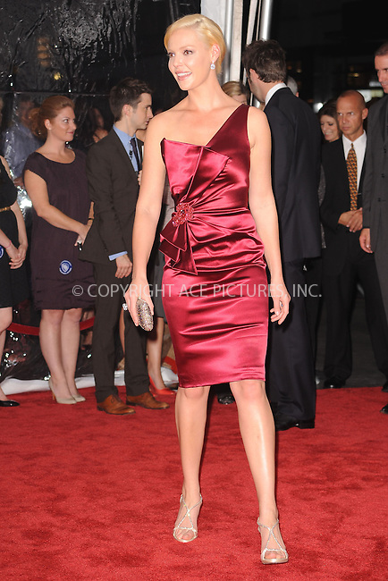 WWW.ACEPIXS.COM . . . . . .September 30 2010, New York City.... Katherine Heigl attends the 'Life As We Know It' premiere at the Ziegfeld Theatre on September 30, 2010 in New York City....Please byline: KRISTIN CALLAHAN - ACEPIXS.COM.. . . . . . ..Ace Pictures, Inc: ..tel: (212) 243 8787 or (646) 769 0430..e-mail: info@acepixs.com..web: http://www.acepixs.com .