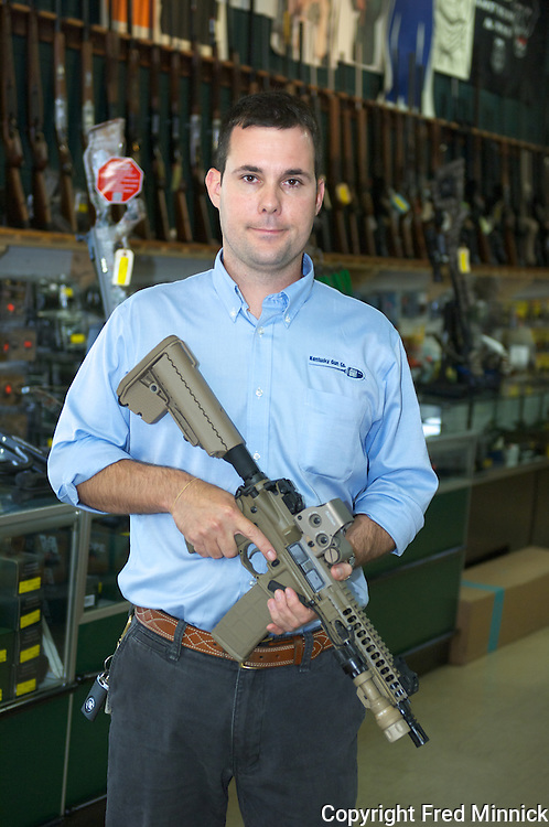 Patrick Hayden owns Keene's Hams and the Kentucky Gun company, the only store in the United States where you can purchase a gun, beer and groceries.