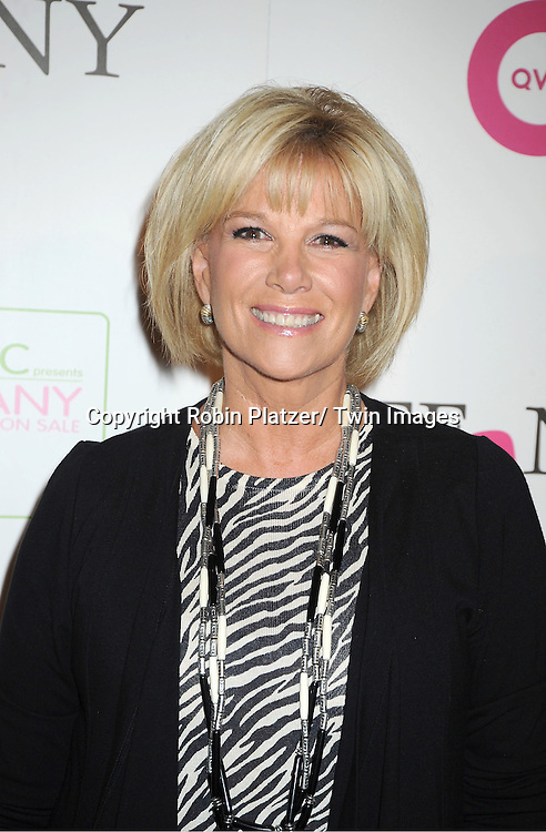 """Joan Lunden attends the  2011 QVC Presents """"FFANY Shoes on Sale"""" Gala on October 13, 2011 at The Waldorf=Astoria Hotel in New York City. The event benefits Breast Cancer Research."""