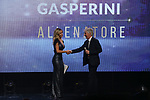 Gian Piero Gasperini is named as Head coach of the Year 2019 pictured at the The Italian Footballers Association Grand Gala of Football at the Megawatt Court, Milan. Picture date: 2nd December 2019. Picture credit should read: Jonathan Moscrop/Sportimage