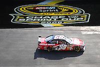 Sept. 21, 2008; Dover, DE, USA; Nascar Sprint Cup Series driver Carl Edwards during the Camping World RV 400 at Dover International Speedway. Mandatory Credit: Mark J. Rebilas-
