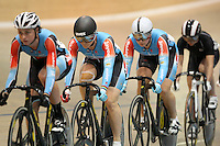 Australia's Anna Meares competing in the Women Keirin at the 2014 Oceania Track Championships, Sit Zero Fees Velodrome, Invercargill, New Zealand, Friday, November 20, 2013. Photo: Dianne Manson / NINZ