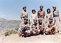 Iraq 1980 .In august, in Toujala, standing from right to left, Mala Baktiar, Pakchan Hafid, Nou Shirwan,Runak and Sala Aziz, first rank, 3rd from right, Arsalan Baez and Mulazem Omar.Irak 1980.En aout, a Toujala, Mala Baktiar, Pakchan Hafid, Nou Shirwan, Runak et Sala Aziz, assis 3 eme a droite, Arsalan Baez et Mulazem Omar