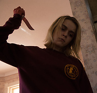 The Blackcoat's Daughter (2015)<br /> (February)<br /> Kiernan Shipka<br /> *Filmstill - Editorial Use Only*<br /> CAP/FB<br /> Image supplied by Capital Pictures