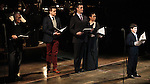 Dick Latessa, Michael Arden, Howard McGillin, Lea Salonga & Lewis Grosso performing in the Manhattan Concert Production of 'Ragtime - In Concert' at Avery Fisher Hall in New York City on 2/18/2013