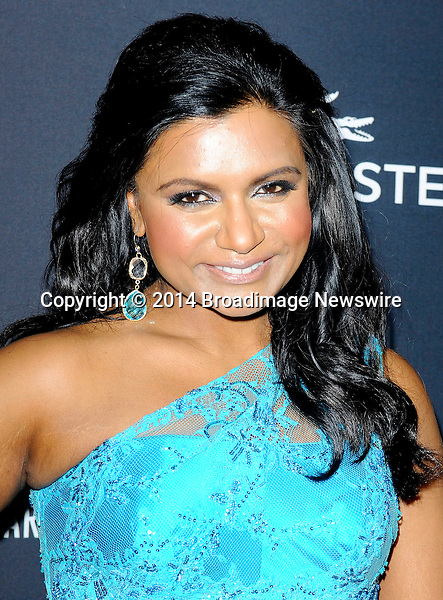 Pictured: Mindy Kaling<br /> Mandatory Credit &copy; Adhemar Sburlati/Broadimage<br /> The 16th Costume Designers Guild Awards<br /> <br /> 2/22/14, Los Angeles, California, United States of America<br /> <br /> Broadimage Newswire<br /> Los Angeles 1+  (310) 301-1027<br /> New York      1+  (646) 827-9134<br /> sales@broadimage.com<br /> http://www.broadimage.com