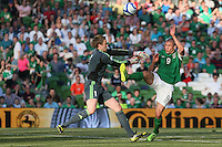 Jon Walters attacks goal