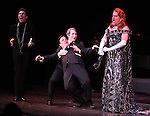 Matthew Broderick & Nathan Lane & Gary Beach.performing in STRO! The Vineyard Theatre Annual Spring Gala honors Susan Stroman at the Hudson Theatre in New York City.