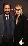 Joe Tapper and Annaleigh Ashford attends the Broadway Opening Night of 'AMERICAN SON' at the Booth Theatre on November 4, 2018 in New York City.