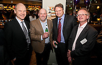 Andy Matthews of Gateley is pictured with from left, Mike Dickinson of Russell Scanlon, Robert Cawdron of E-Synergy and Andy Radford of Guildhall Estates