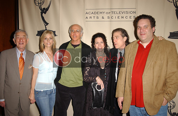 """Larry David and cast of """"Curb Your Enthusiasm""""<br /> at the Academy of Television Arts & Sciences Evening with """"Curb Your Enthusiasm,"""" Leonard H. Goldenson Theater, North Hollywood, CA 11-09-05<br /> <br /> David Edwards/DailyCeleb.com 818-249-4998"""