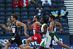 Glasgow 2014 Commonwealth Games<br /> Men's Decathlon 100m Heats<br /> Ben Gregory (Wales)<br /> <br /> 28.07.14<br /> ©Steve Pope-SPORTINGWALES