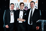 © Joel Goodman - 07973 332324 . 01/03/2018 . Manchester , UK . Law Firm of the Year – large (20+ partners) winner is Eversheds Sutherland . The Manchester Evening News Legal Awards at the Midland Hotel in Manchester City Centre . Photo credit : Joel Goodman