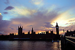 A view of the House of Parliament and Big Ben from the South Bank.