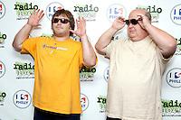 Tenacious D visit Radio 104.5's iHeart Radio Performance Theater in Bala Cynwyd, Pa on June 30, 2012  © Star Shooter / MediaPunchInc /*NORTEPHOTO.COM*<br /> *SOLO*VENTA*EN*MEXiCO* *CREDITO*OBLIGATORIO** *No*Venta*A*Terceros* *No*Sale*So*third* ***No Se*Permite*Hacer*Archivo** *No*Sale*So*third*©Imagenes con derechos de autor,©todos reservados. El uso de las imagenes está sujeta de pago a nortephoto.com El uso no autorizado de esta imagen en cualquier materia está sujeta a una pena de tasa de 2 veces a la normal. Para más información: nortephoto@gmail.com* nortephoto.com.