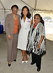MIAMI GARDENS, FL - MAY 12: Barbara J. Jordan  Commissioner of Miami- Dade County, Dr. Roslyn Clark Artis - President of Florida Memorial University and Betty T. Ferguson Former Miami-Dade County Commissioner attends the Opening of  Florida Memorial University's  Multi-Purpose Arena and Wellness Education Center and the Launch of their Health Matters Movement at Florida Memorial University on Thursday May 12, 2016 in Miami Gardens, Florida.  ( Photo by Johnny Louis / jlnphotography.com )
