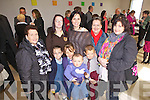 A family affair at the official opening of the LIstowel Family Rescource Centre, pictured here last Monday afternoon was f l-r: Jade, Shianne, Leona and Stephen Meaney. B l-r: Rose Stacey, Pamela and Lorraine Meaney and Helen Heaney.