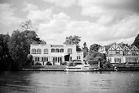 Maidenhead. Berkshire. United Kingdom. General view, Riverside residences  on the course of the 2017 Maidenhead Junior Regatta  River Thames. <br /> <br /> [&copy;Peter SPURRIER/Intersport Images] Sunday. 14.05.2017