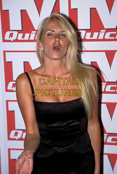 NANCY SORRELL.TV Quick Awards at The Dorchester Hotel.www.capitalpictures.com.sales@capitalpictures.com.© Capital Pictures..half length, half-length