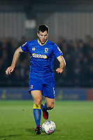 Jonathan Meades of AFC Wimbledon during the Sky Bet League 1 match between AFC Wimbledon and Charlton Athletic at the Cherry Red Records Stadium, Kingston, England on 10 April 2018. Photo by Carlton Myrie / PRiME Media Images.