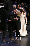 """Jerry O'Connell, Susan Stroman and Laura Osnes during the Manhattan Concert Productions 25th Anniversary concert performance of """"Crazy for You"""" at David Geffen Hall, Lincoln Center on February 19, 2017 in New York City."""
