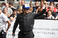 Puerto Rican actor Benicio del Toro arrives  at 63rd Donostia Zinemaldia (San Sebastian International Film Festival) in San Sebastian, Spain. September 18, 2015. (ALTERPHOTOS/Victor Blanco) /NortePhoto.com