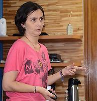 SAO PAULO, 05 DE JULHO DE 2012 - PALESTRA SONINHA - Candidata Soninha em Palestra no Sindicato das Empresas de Transporte por Fretamento e por Turismo da região metropolitana de São Paulo, na tarde desta quinta feira, regiao cntral da capital. FOTO: ALEXANDRE MOREIRA - BRAZIL PHOTO PRESS