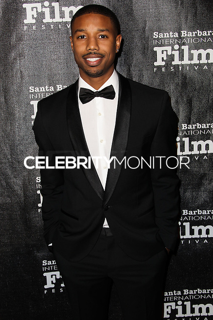 SANTA BARBARA, CA - JANUARY 05: Michael B. Jordan at the Santa Barbara International Film Festival's 8th Annual Kirk Douglas Award For Excellence In Film held at Bacara Resort and Spa on January 5, 2014 in Santa Barbara, California. (Photo by Xavier Collin/Celebrity Monitor)