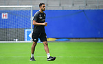 Aziz Bouhaddouz (Sandhausen)<br />Hamburg, 28.06.2020, Fussball 2. Bundesliga, Hamburger SV - SV Sandhausen<br />Foto: VWitters/Witters/Pool//via nordphoto<br /> DFL REGULATIONS PROHIBIT ANY USE OF PHOTOGRAPHS AS IMAGE SEQUENCES AND OR QUASI VIDEO<br />EDITORIAL USE ONLY<br />NATIONAL AND INTERNATIONAL NEWS AGENCIES OUT