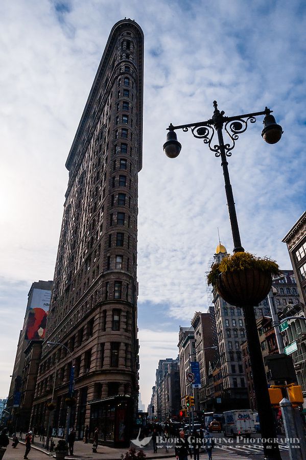 US, New York City. Flatiron Building.