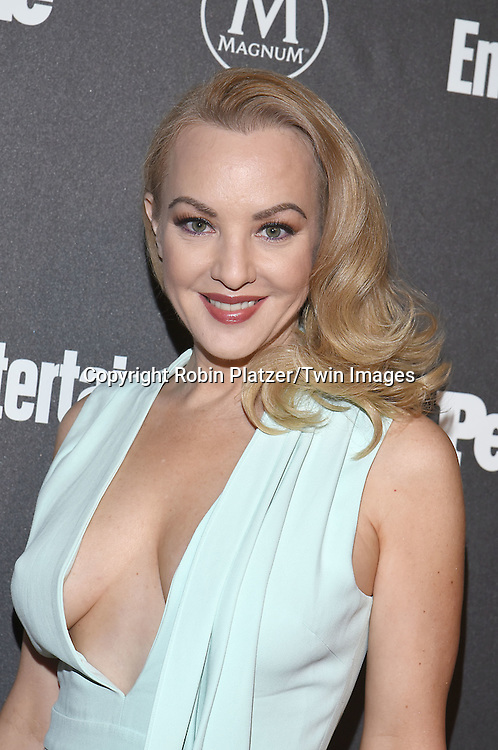 Wendi McLendon-Covey attends the Entertainment Weekly &amp; PEOPLE Magazine New York Upfronts Celebration on May 16, 2016 at Cedar Lake in New York, New York, USA.<br /> <br /> photo by Robin Platzer/Twin Images<br />  <br /> phone number 212-935-0770