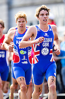 04 JUL 2010 - ATHLONE, IRL - Oliver Freeman (GBR) - European Elite Mens Triathlon Championships (PHOTO (C) NIGEL FARROW)