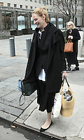 www.acepixs.com<br /> <br /> Janaury 19 2017, New York City<br /> <br /> Actress Uma Thurman leaves Manhattan Supreme Court following the latest round in her custody battle with ex-husband Arpad Busson on January 19 2017 in New York City<br /> <br /> By Line: Curtis Means/ACE Pictures<br /> <br /> <br /> ACE Pictures Inc<br /> Tel: 6467670430<br /> Email: info@acepixs.com<br /> www.acepixs.com