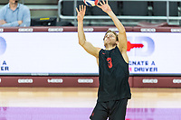 Los Angeles, CA - March 29, 2019.  Stanford men's volleyball lost to USC in five sets