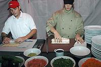 SANTO DOMINGO, RD, Suchi, plato de orijen chino...Foto:Cesar de la Cruz.Fecha:.
