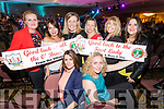 Pictured at the Kerins O'Rahillys Strictly Come Dancing, held at the Brandon Hotel, Tralee on Saturday night last, were front l-r: Therese Greaney and Mary Gardiner. Back l-r: Cathy Sheehan Kay Griffin, Andrea O'Donoghue, Ruth Murphy, Olive Ryan and Edel Ryan.