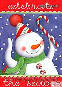 Ingrid, CHRISTMAS SANTA, SNOWMAN, WEIHNACHTSMÄNNER, SCHNEEMÄNNER, PAPÁ NOEL, MUÑECOS DE NIEVE, paintings+++++,USISWN55CH,#X#