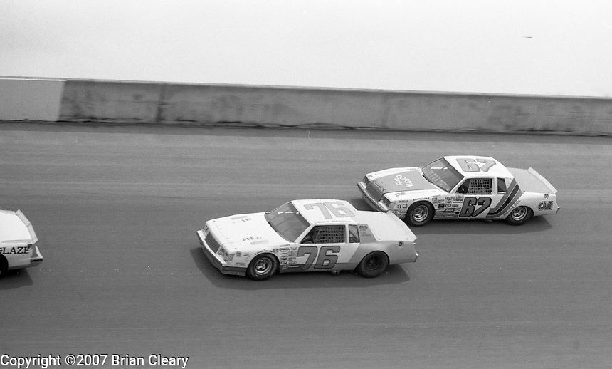 Winston 500 at Alabama International Motor Speedway in Talladega Alabama on May 6, 1984.  (Photo by Brian Cleary/www.bcpix.com)