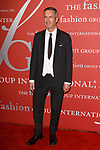 Fashion designer Dries van Noten arrives at The Fashion Group International's Night of Stars 2017 gala at Cipriani Wall Street on October 26, 2017.