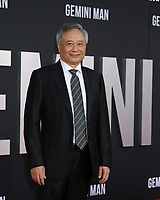"""LOS ANGELES - OCT 6:  Ang Lee at the """"Gemini"""" Premiere at the TCL Chinese Theater IMAX on October 6, 2019 in Los Angeles, CA"""