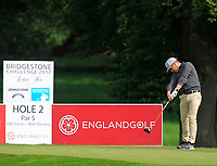 Jaakko Makitalo (FIN) on the 2nd tee during Round 1 of the Bridgestone Challenge 2017 at the Luton Hoo Hotel Golf &amp; Spa, Luton, Bedfordshire, England. 07/09/2017<br /> Picture: Golffile | Thos Caffrey<br /> <br /> <br /> All photo usage must carry mandatory copyright credit     (&copy; Golffile | Thos Caffrey)