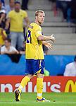 Christian Wilhelmsson at Euro 2008 Greece-Sweden 06102008, Salzburg, Austria